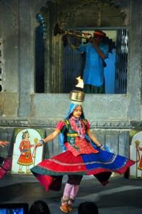 chari dance udaipur