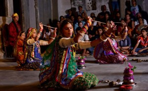 dharohar girls folk dance